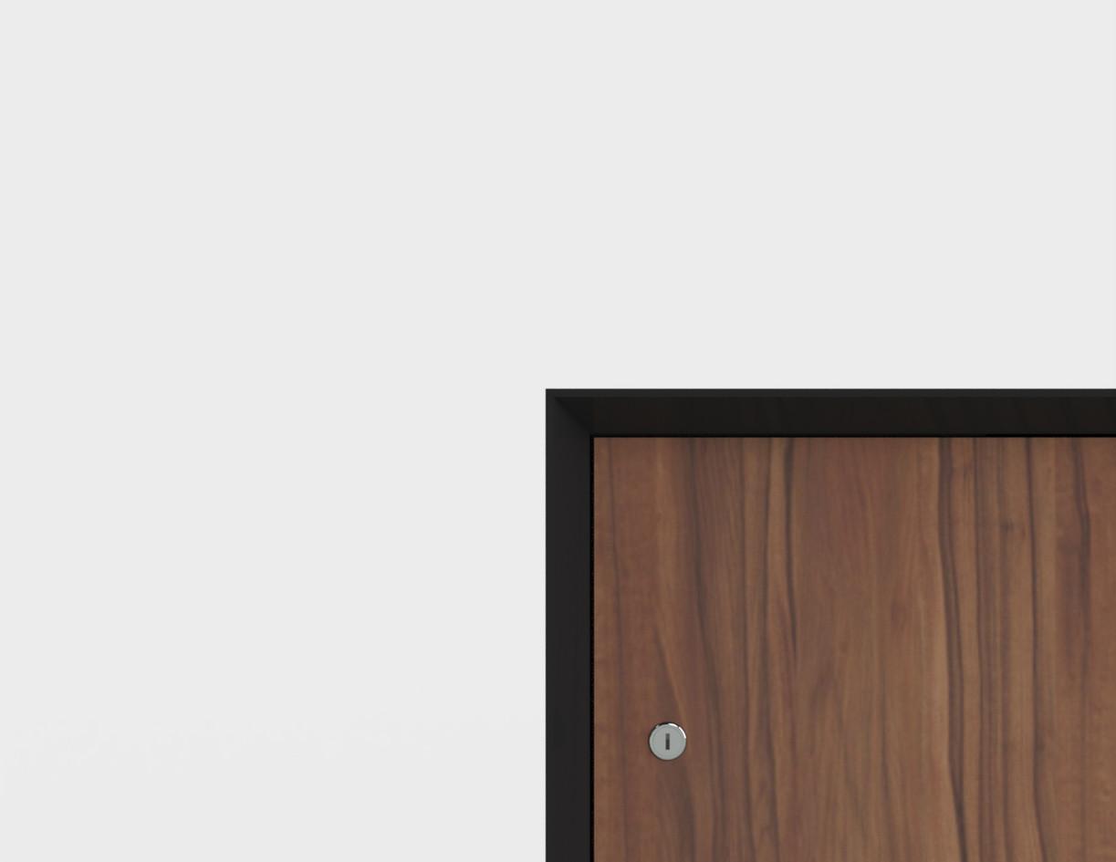 PersonalLocker_W900D450H1270_3段6人用_台輪仕様_