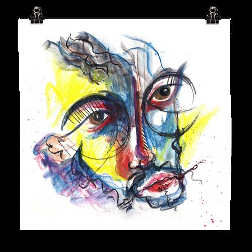 Brave Face - Art Print
