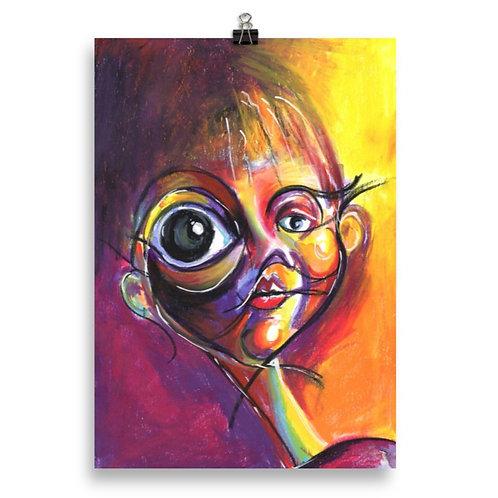 Hypnotise - Art Print 21cm x 30cm