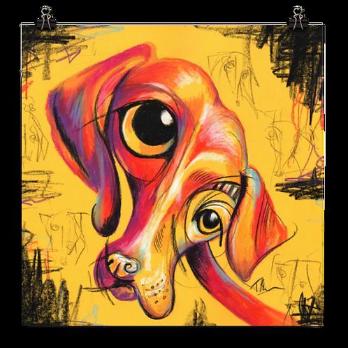 Feed Me Eyes - Art Print