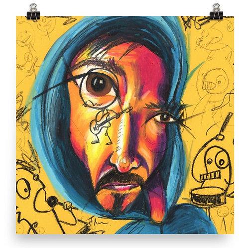 Graffiti Band - Art Print