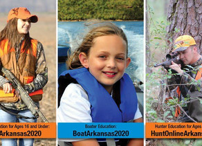 Save on hunter and boating education courses in April!