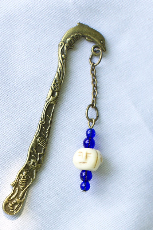 Small Beaded Bookmark