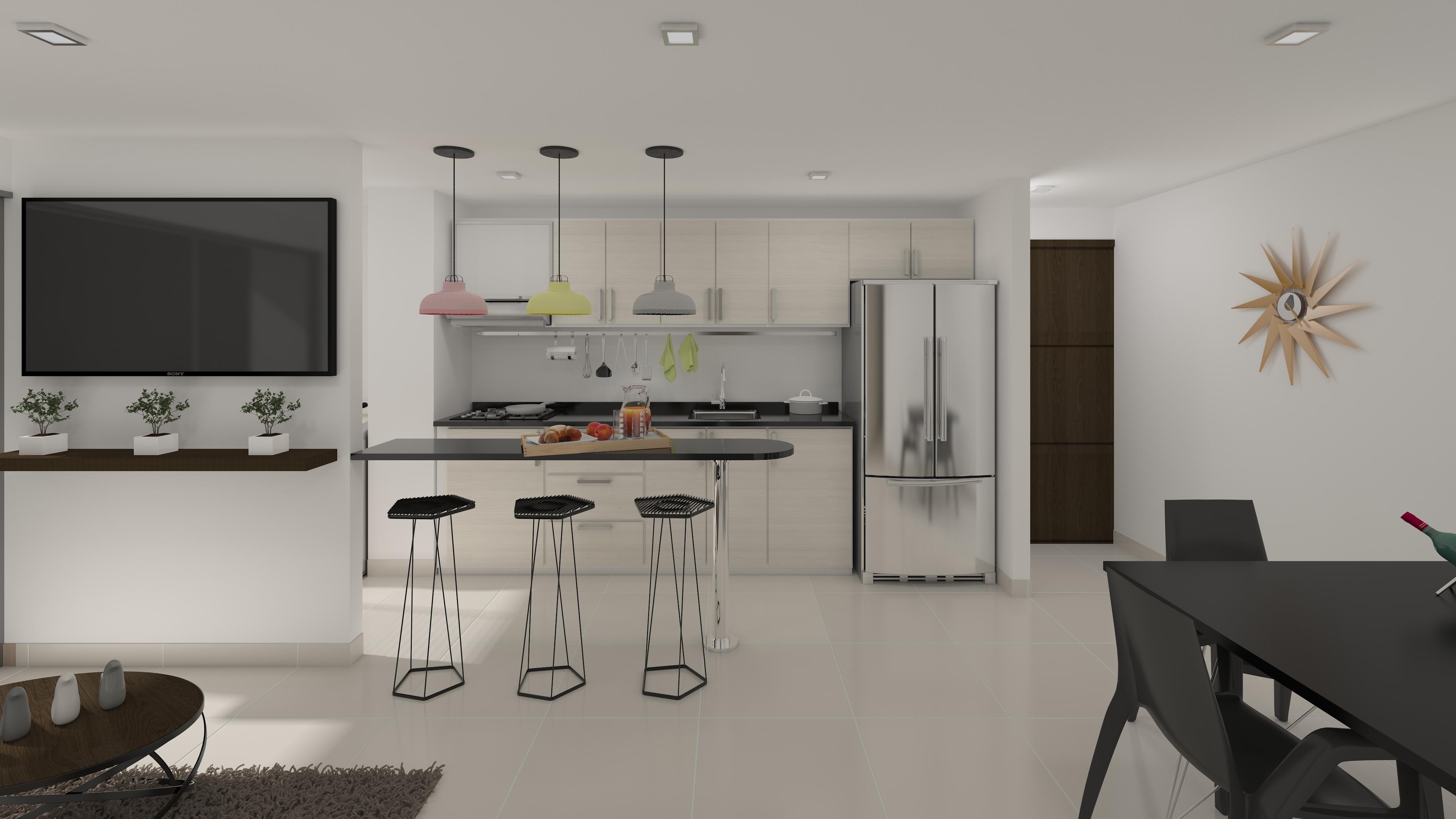 Sala-comedor-cocina B3