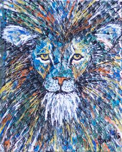 'Study of a Lion' - 2017