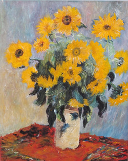 'Bouquet of Sunflowers' - 2002