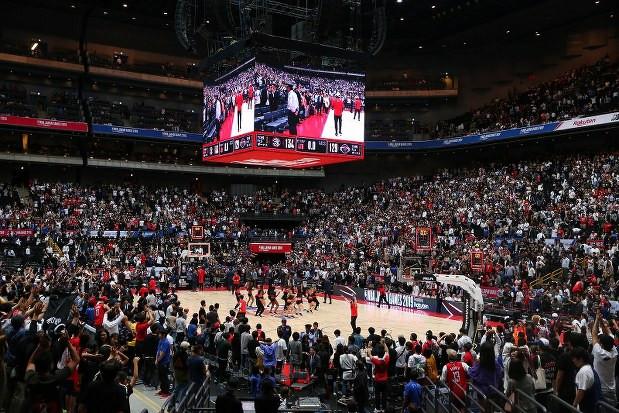 NBA JAPAN GAMES2019 finished !