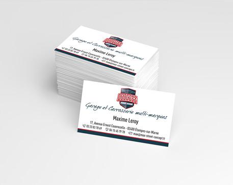Supports de communication papier Max Street Concept