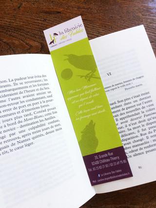 Marque page de La Librairie Des Fables