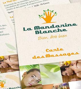 Réalisations La Mandarine Blanche