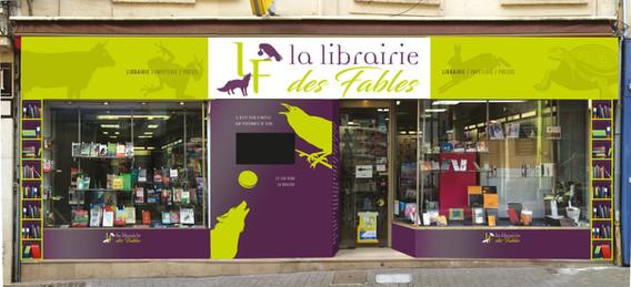 Façade deLa Librairie Des Fables