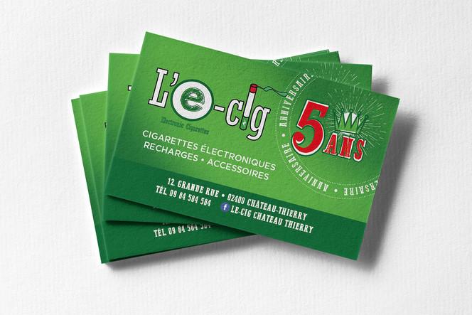 Cartes à gratter L'E-Cig