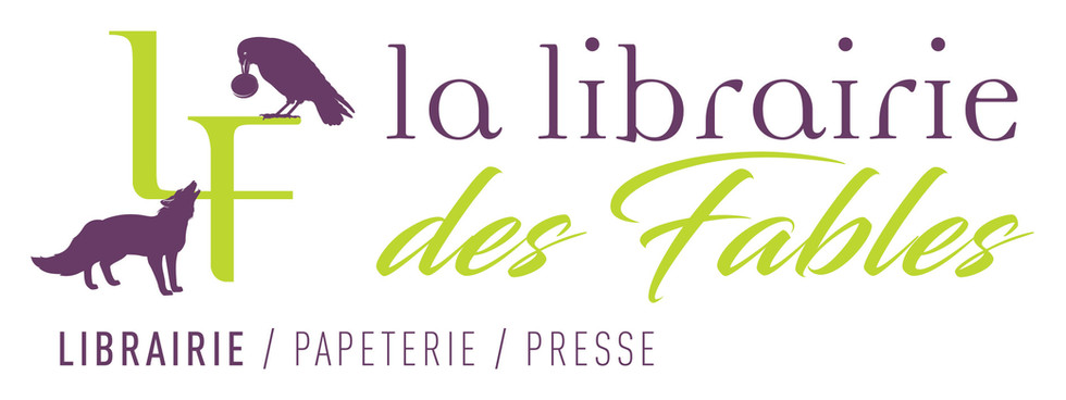 Logo vertical La Librairie Des Fables