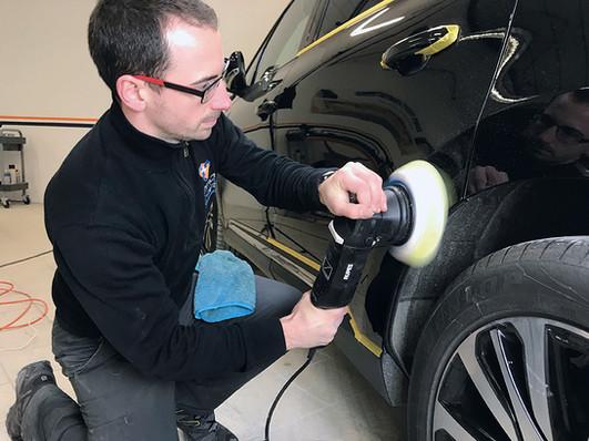 Travail de lustrage Pro Technic'Ar