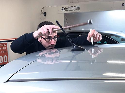 Travail de dégrêlage Pro Technic'Ar