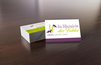 Cartes de vistes La Librairie Des Fables