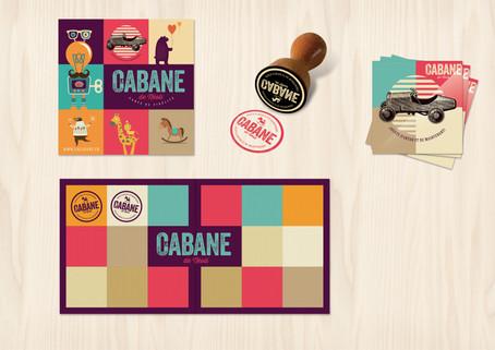 Carte de Fidélité & stickers La Cabane De Néoli