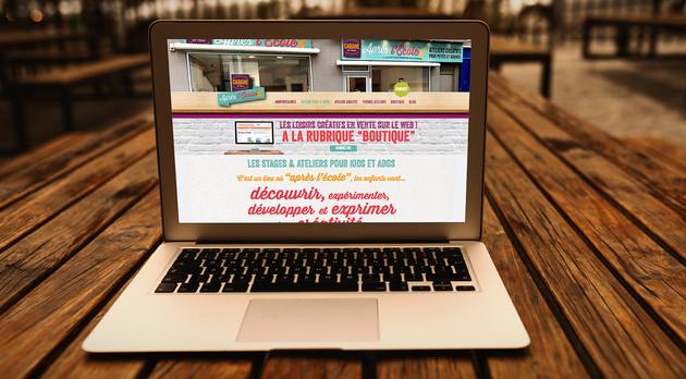 Site internet La Cabane Après l'École