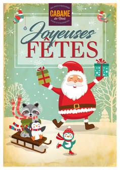 Affiche Noël 2017 La Cabane De Néoli