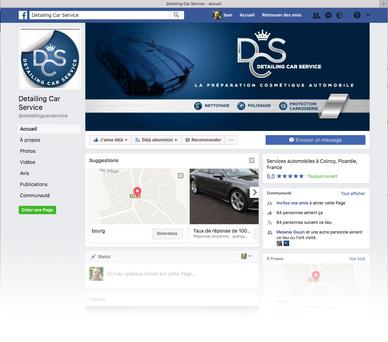 Facebook Detailing Car Service