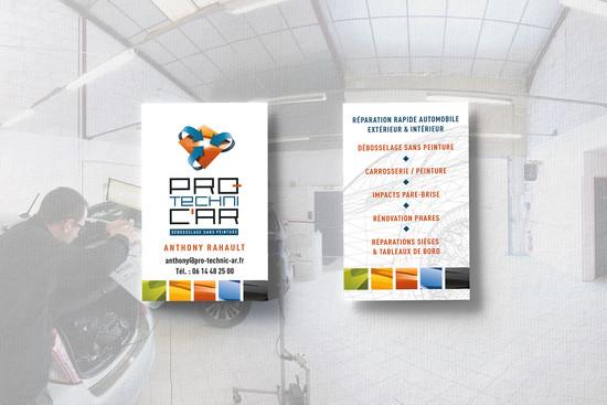 Cartes de visites Pro Technic'Ar