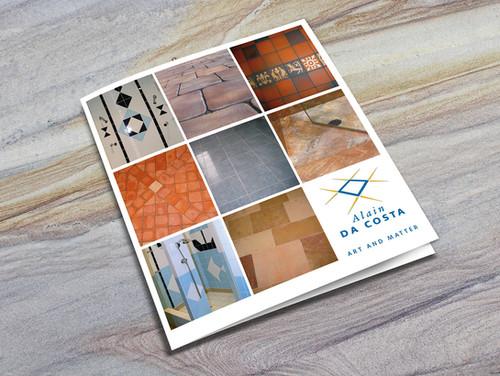 Couverture brochure des réalisations Alain Da Costa
