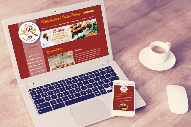 SIte web responsive traiteurleroy.com