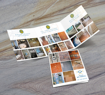 Brochure 3 volets Alain Da Costa