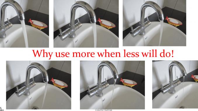 Forget Kiki and Ice-bucket, take the Minimum Water Challenge instead!