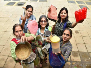 Bengaluru women get cracking on zero-waste shopping