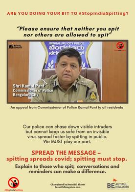 17. Police Commissioner Kamal Pant says