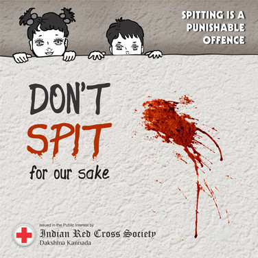 1. Red cross - Don_t spit for our sake.j