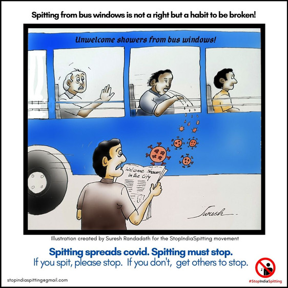 4. Spitting from the bus - Suresh Randad