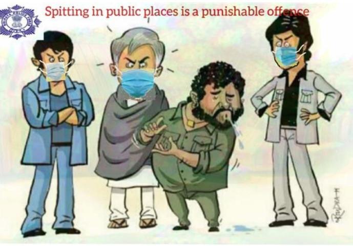 4. Kolkata police - Gabbar Singh.jpg