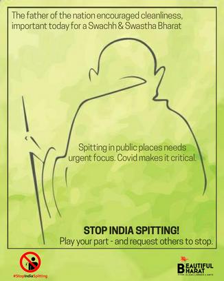 15. No Spitting - Gandhiji.png