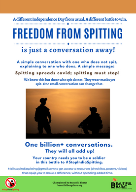 7. Freedom from spitting -one billion co