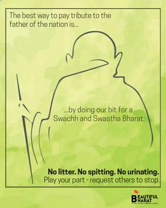 14. No litter - spitting - urination Gan