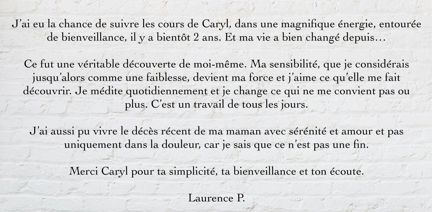 Laurence P.