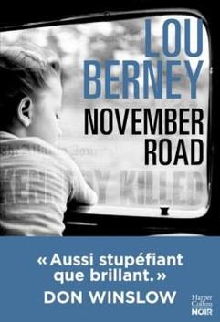 November Road - Lou Berney [Couverture].