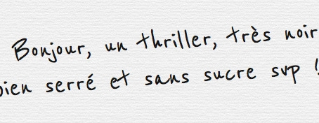 Mon top 15: Thrillers