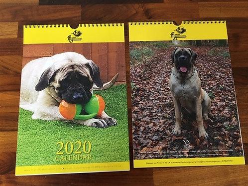Small A4 Calendar 2020