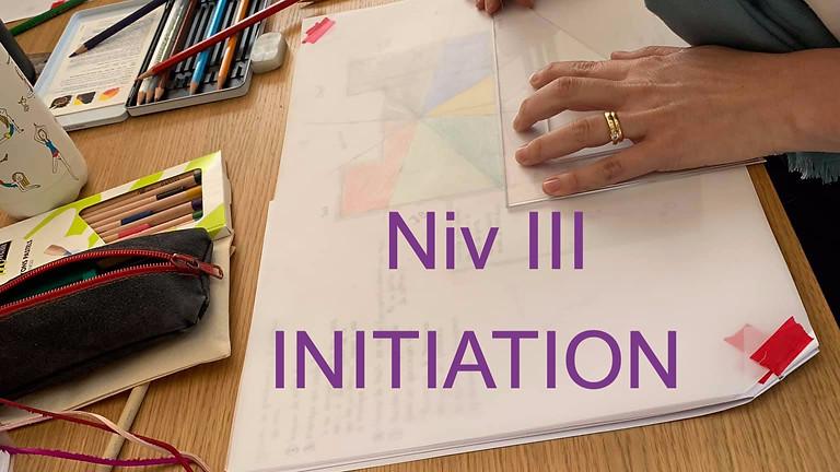Séminaire d'initiation à la pratique NivIII