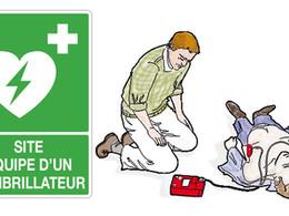 L'équipement en défibrillateur  obligatoire pour les ERP