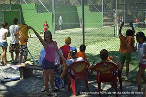 Campamento padel y vela en Madrid San Ju
