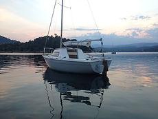 barco club vela eves vaurien datos tecnicos eslora manga alquiler