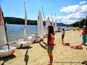 Campamento playa de Madrid San Juan naut