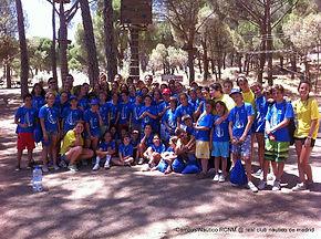 Campamento en Madrid vela aventura natur