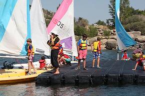 campamento nautico san juan burguillo vela madrid