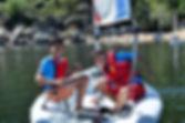 campamento vela ingles madrid burguillo divertido Berlitz cenautica nautico acuatico eves