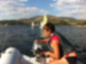 campamento vela nautico ingles RYA